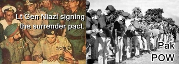 93,000 Pakistani troops surrendered before India in 1971