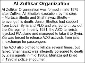 Much before Al Qaeda and Taliban, Al Zulfikar Organization existed in Pakistan!