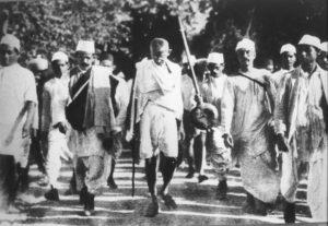 Gandhi's civil disobedience movement