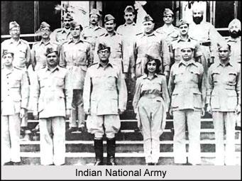 Indian national Army hastened British departure