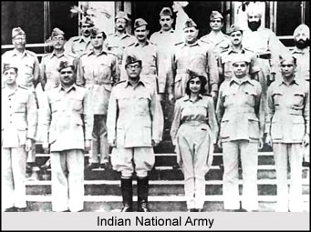 Indian national Army hastened British departure