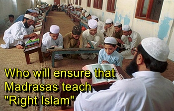 Madrasas (religious schools) play a vital role in radicalization