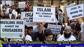 Islamic societies are generally backward looking due to Muslim clergy