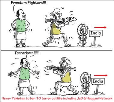 "Pak game of ""good terrorist"" ""bad terrorist"" is self-deceit"