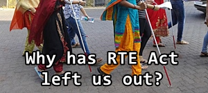 No mechanism to bring back dropped out children in the RTE.