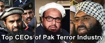 Top CEOs of Pak Terror Industry; Pak Terror economy never shows 'depression' !