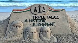 triple talaq written on SAND