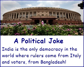 Indian democracy joke
