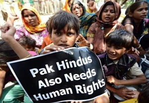 Hindus population in Pakistan is decreasing due to persecution