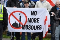 anti-muslim-protest around the world