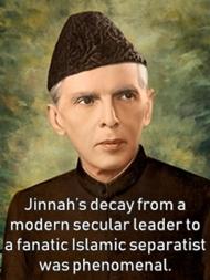 jinnah - an Islamic separatist
