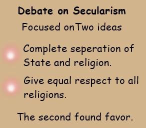 secularism debate
