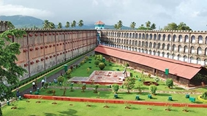 The Cellular Jail was built in 1906 at Port Blair, Andaman