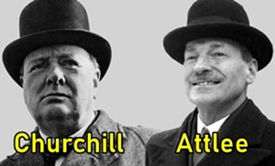Churchill's defeat hastened British departure from India