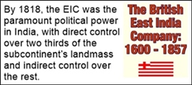 The expansion of EIC after 1757 was phenomenal