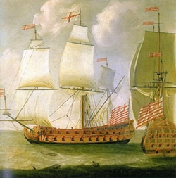 The British East India Company came to India in 1608