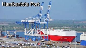 Hambantota Port, an example of Chinese debt trap