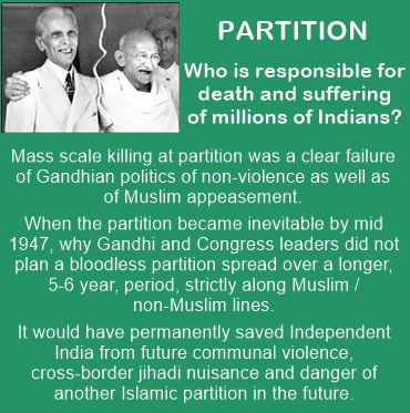 Partition of India: Why Gandhi did not plan for a peaceful migration of Muslims and non-Muslims?