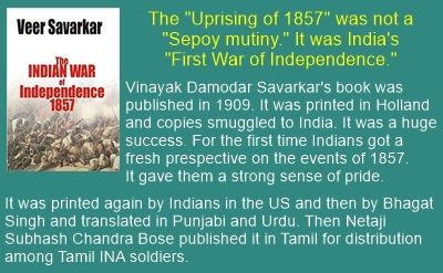 Savarkar's 1909 book was a huge success. It inspired Indian revolutionaries both in India and abroad