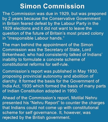 The Simon Commission failed but inspired Indians to write their own Constitution.