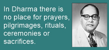 Dr Ambedkar rightly chose Buddhism - in essence it is pure Dharma, pure humanity.
