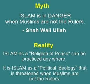 """""""Islam is in Danger"""" - Prophet's Islam is never is danger; Mullah's political Islam is always in danger"""