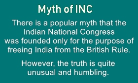 Truth behind formation of Congress Party is quite humbling
