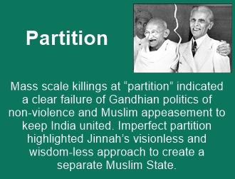 India's partition was a serious blunder