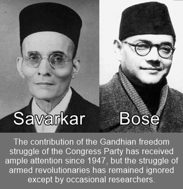 Revolutionary Freedom Fighters have remained ignored by the Indians.