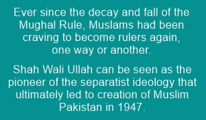Ideology of Islamic separatism