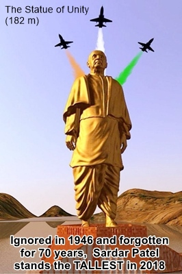 Sardar Patel - Tallest Statue