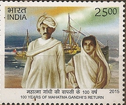 100 years of return of Mahatma GAndhi to India