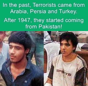 After 1947, Terrorists started coming from Pakistan!