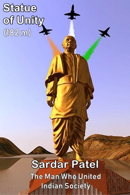 Sardar Patel is the man who created a united India.