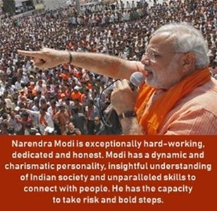 Narendra Modi is charismatic