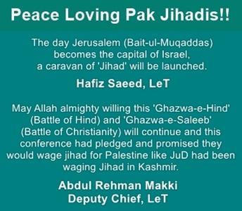 Pak Jihadis are a threat to humanity