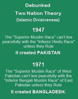 Debunked two nation theory