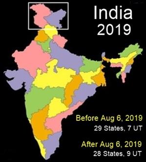 J&K 1951 2019 - New India
