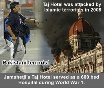 Jamshetji Taj hotel terror attack